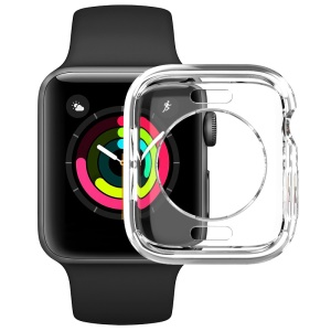 IMAK UX-3 Series for Apple Watch Series 4 44mm Soft Protective Cover [Hollow Front Version]