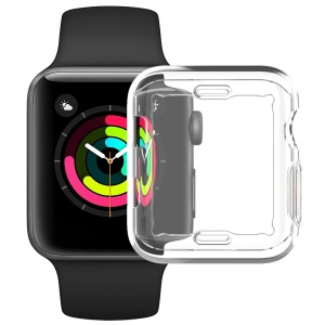 IMAK UX-3 Series for Apple Watch Series 3/2/1 38mm Soft Shell Cover [Front Protection Version]