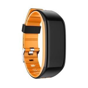 Y30 0.96 inch Color Screen Bluetooth Wristband Heart Rate Monitor Fitness Tracker - Orange