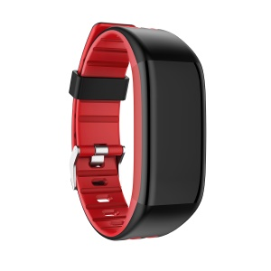 Y30 0.96 inch Color Screen Bluetooth Wristband Heart Rate Monitor Fitness Tracker - Red