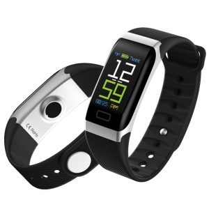 Y7 0.96 inch Color Screen IP68 Waterproof Smart Wristband Support Heart Rate Monitoring - Black