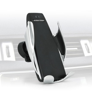 2-in-1 Intelligent Car Phone Mount Holder Air Vent Mounted Wireless Charger
