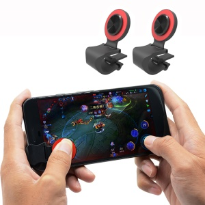A9 Mini Fling Mobile Game Remote Control Joystick - Red