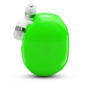 Automatic Cord Winder Cable Organizer for Headphones, USB Cables - Green