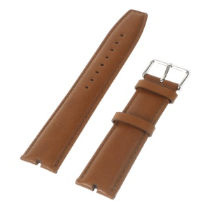 Genuine Leather Watch Band for Motorola Moto 360 Smart Watch - Brown