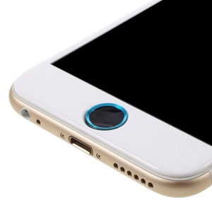 Touch ID Home Button Sticker Fingerprint Identification for iPhone 6s Plus / 6s / 6 Plus / 5s - Black / Blue
