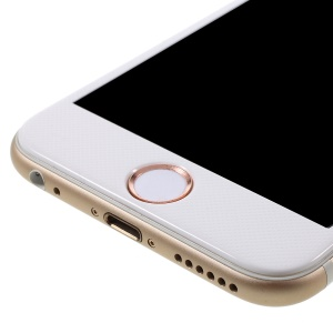 Touch ID Home Button Sticker Fingerprint Identification for iPhone 6s Plus / 6s / 6 Plus / 5s - White / Rose Gold