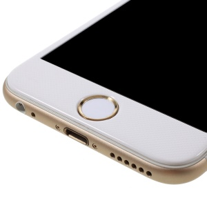 Touch ID Home Button Sticker Fingerprint Identification for iPhone 6s Plus / 6s / 6 Plus / 5s - White / Champagne Gold