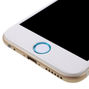 Touch ID Home Button Sticker Fingerprint Identification for iPhone 6s Plus / 6s / 6 Plus / 5s - White / Blue