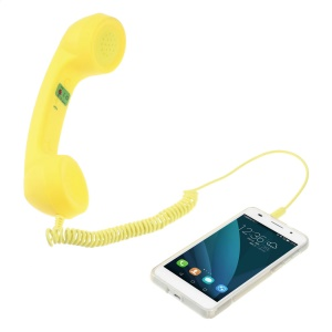 3.5MM Mobile Phone Receiver Retro Handset for iPhone Samsung HTC Mobile Phone