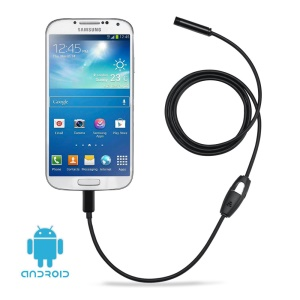 2m Waterproof Micro USB Industrial Endoscope for Laptops OTG Android Smartphones