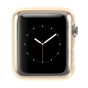 TORRAS Plated Cover PC Shell Case for Apple Watch 42mm - Gold