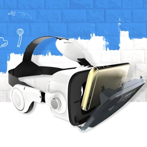 XIAOZHAI BOBOVR Z4 3D Virtual Reality Glasses Private Theater for iPhone 6s/Samsung S7 Etc - White