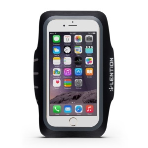 LENTION Active Series Sport Armband with Card Slot for iPhone 6s 6 - Grey
