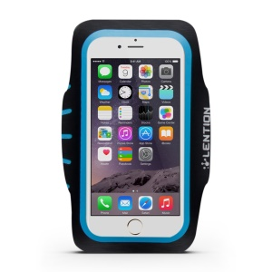 LENTION Active Series Sport Arm Band with Card Slot for iPhone 6s 6 - Blue