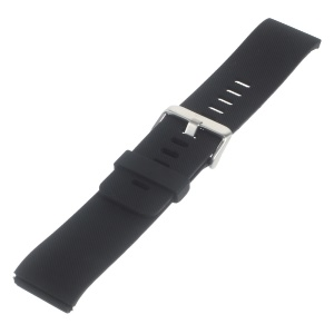 Soft Silicone Sports Watchband for Fitbit Blaze - Black