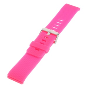 Soft Silicone Sports Watchband for Fitbit Blaze - Rose