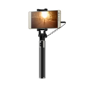 HUAWEI Honor AF11 3.5mm Cable Control Extendable Selfie Stick - Black