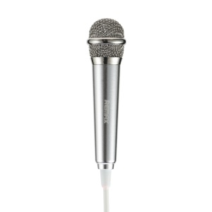 REMAX RMK-K01 Mini Karaoke Microphone for Song-singing APPs - Silver