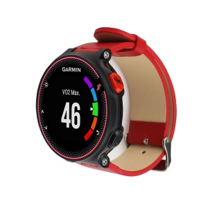 Genuine Leather Band for Garmin Forerunner 230/235/630 - Red
