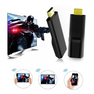 Mini Wireless HDMI Adapter WiFi Display Support DLNA Airplay for IOS/Mac OS/Windows/Android - Black