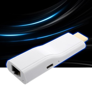 Mini Wireless WiFi HDMI Dongle Adapter Support DLNA Airplay for IOS/Mac OS/Windows/Android - White