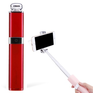 NILLKIN Nice 3.5mm Wired Control Extendable Selfie Stick Controller for iPhone 6s Plus/Samsung Galaxy S8 - Red