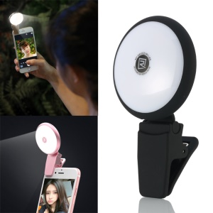 REMAX High-end Selfie Light Compensation LED for iPhone Samsung etc Smartphones - Black