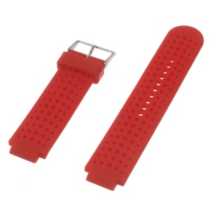Silicone Watch Band for Garmin Forerunner 220 230 235 630 620 735XT with Pins & Tools - Red