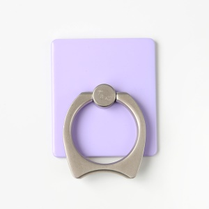 MAOXIN Cat Ear Ring Holder Finger Grip for iPhone iPad Samsung etc - Purple