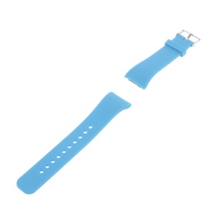 Silicone Watch Wrist Strap for Samsung Gear Fit 2 SM-R360 - Baby Blue