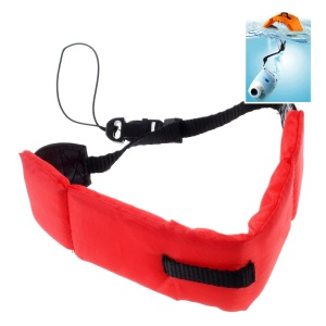 LINGLE Universal Waterproof Floating Camera Wrist Strap for Underwater GoPro etc Action Camera - Red