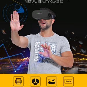 VR SHINECON All-in-one 5.0 Inch 720P 3D Glasses Virtual Reality Headset Support WiFi TF Card