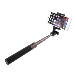 DISPHO Bluetooth Extendable Handheld Selfie Stick 6-section Camera Shutter Monopod - Black