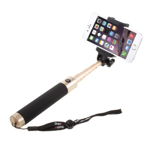 DISPHO Extendable Bluetooth Remote Camera Shooting Selfie Shutter Handheld Monopod