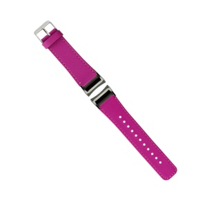 Genuine Leather Watch Strap for Samsung Gear Fit 2 SM-R360 - Rose