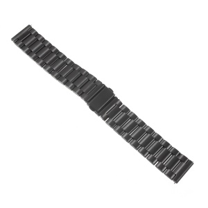 22mm Stainless Steel Watchband for Samsung Gear S3 Frontier / S3 Classic - Black