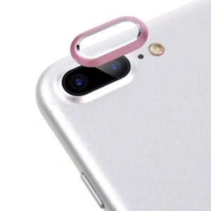 Back Camera Lens Protective Ring for iPhone 8 Plus / 7 Plus 5.5 inch - Pink