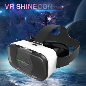 VR SHINECON 3D VR BOX Virtual Reality Glasses for iPhone Samsung