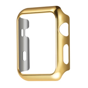HOCO Defender Series Plated PC Case for Apple Watch 38mm Series 1 Series 2 - Gold