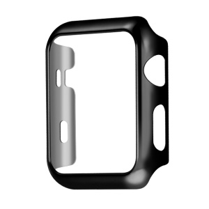 HOCO Defender Series Plating PC Cover for Apple Watch 42mm Series 1 Series 2 - Black