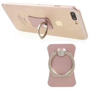 CMZWT Metal Ring Holder Finger Grip Stand for Cellphone Tablet - Rose Gold