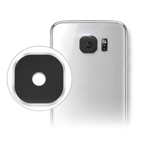 HAT PRINCE for Samsung Galaxy S7 / S7 edge Rear Camera Lens Cover Protector - Black