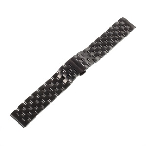 Stainless Steel Watch Band Wrist Strap for Samsung Gear S3 Frontier / S3 Classic - Black