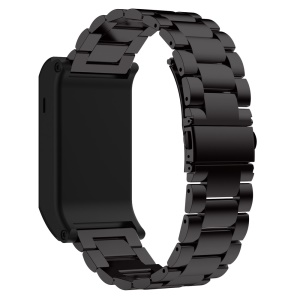 Classic Stainless Steel Watch Band for Garmin Vivoactive HR - Black