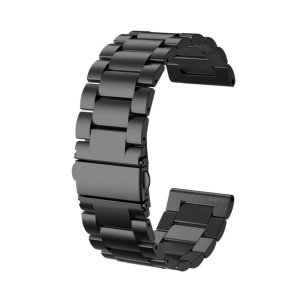 New Fashion Stainless Steel Watch Band for Garmin Fenix 3 - Black