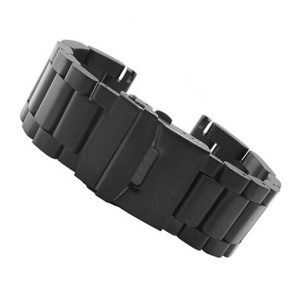 316 Stainless Steel Watch Band Replacement for Garmin Fenix 3 - Black
