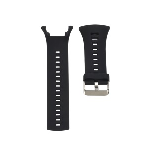 Silicone Sport Watchband for Suunto Ambit 1/Ambit 2/Ambit 3 - Black