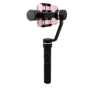 FEIYU SPG Live 360 Degree Limitless Pan Axis Foldable Smartphone Handheld Gimbal for iPhone 7 Etc. - Black