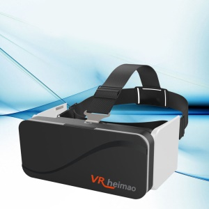 HEIMAO A6 3D VR Foldable Virtual Reality Glasses Helmet for 4.7-6.0 inch Smartphones